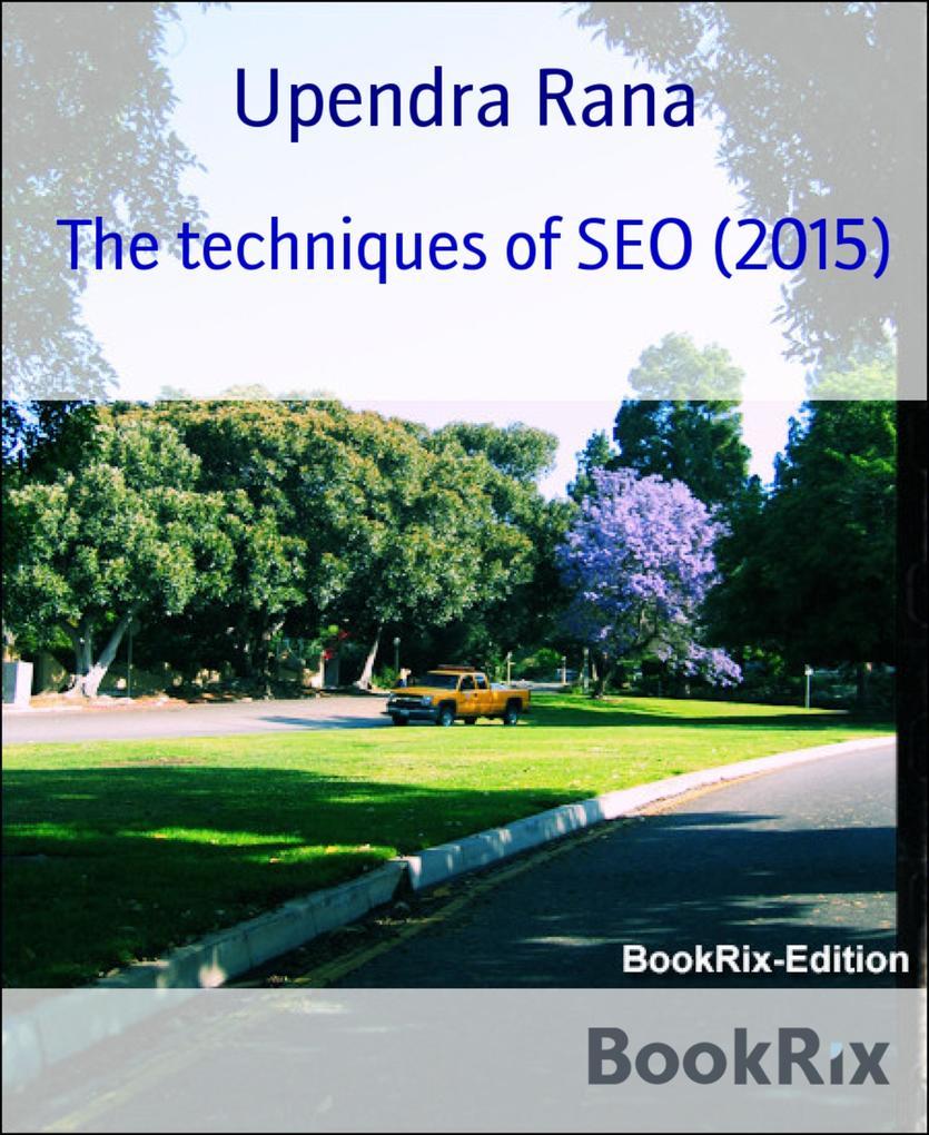 The techniques of SEO (2015) als eBook Download...