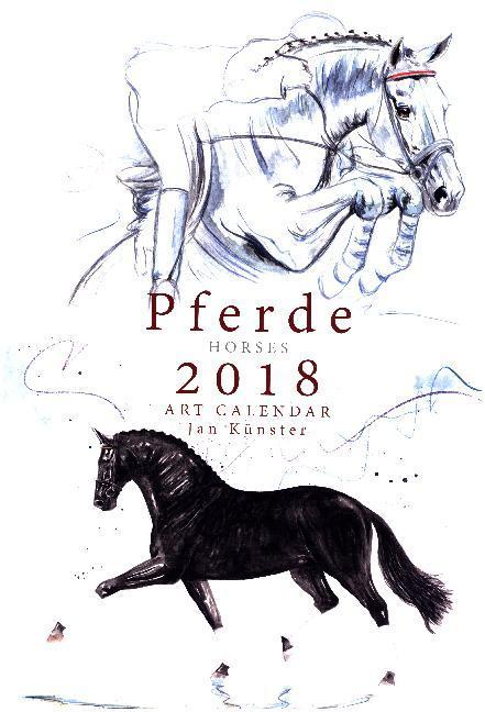 Kunstkalender Pferde 2018