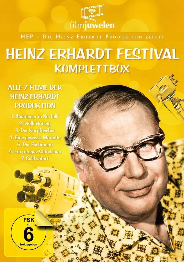 Heinz Erhardt Festival - Komplettbox (HEP - Die...