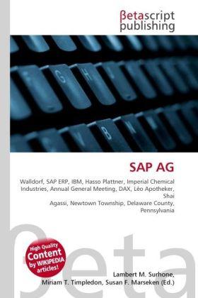 SAP AG als Buch von