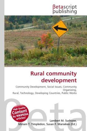 Rural community development als Buch von
