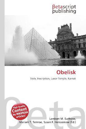 Obelisk als Buch von