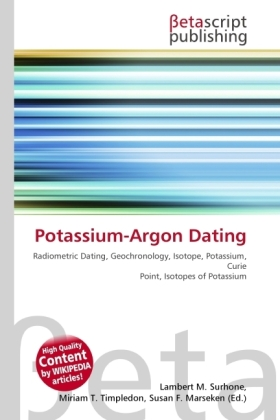 Potassium-Argon Dating als Buch von