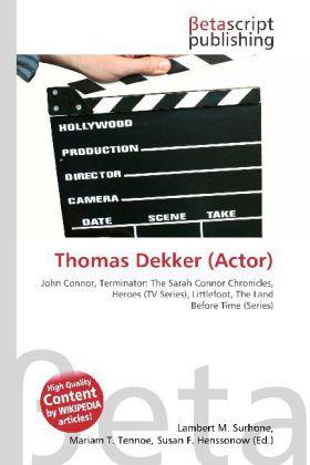 Thomas Dekker (Actor) als Buch von
