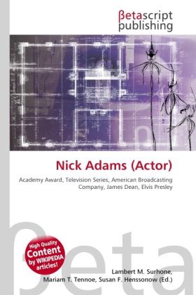 Nick Adams (Actor) als Buch von