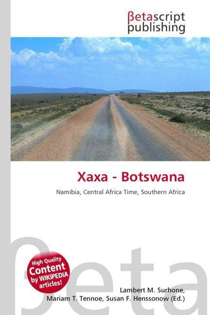 Xaxa - Botswana als Buch von