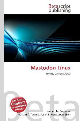 Mastodon Linux als Buch von