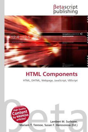 HTML Components als Buch von