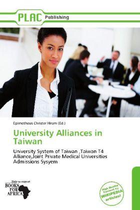 University Alliances in Taiwan als Buch von