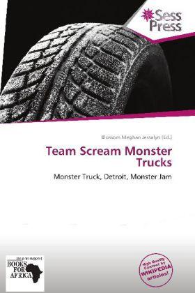 Team Scream Monster Trucks als Buch von