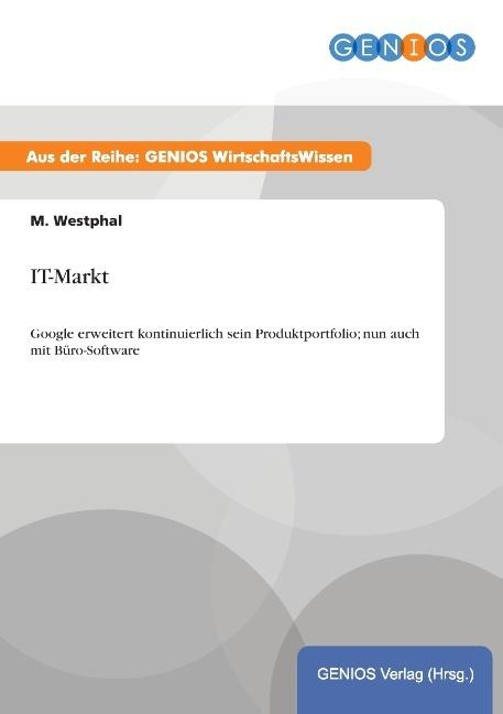 IT-Markt als Buch von M. Westphal