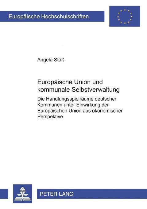 Europäische Union und kommunale Selbstverwaltun...