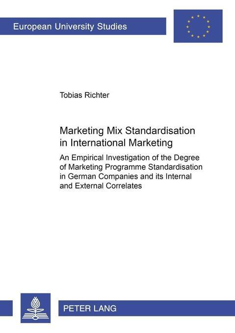 Marketing Mix Standardisation in International ...