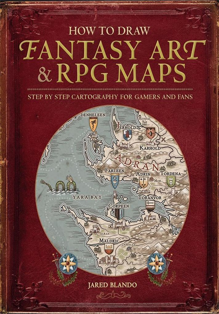 How to Draw Fantasy Art and RPG Maps als eBook ...