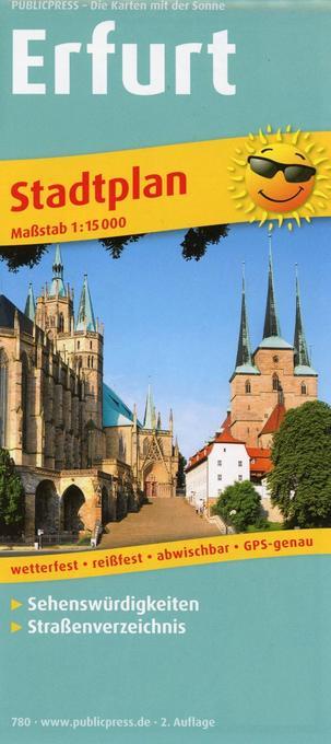 Stadtplan Erfurt 1 : 15 000 als Buch von