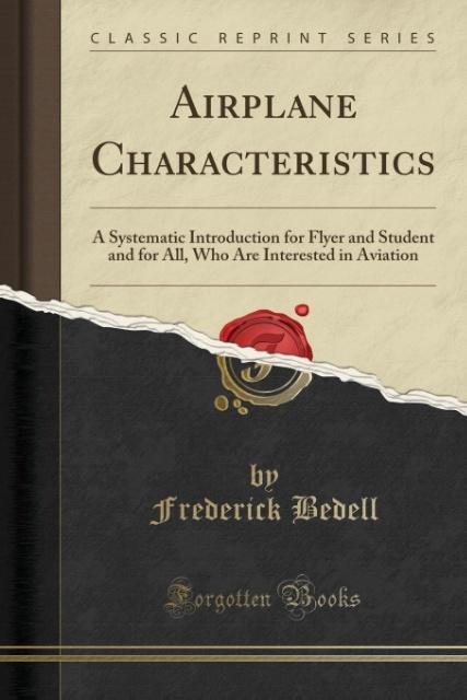 Airplane Characteristics als Taschenbuch von Fr...