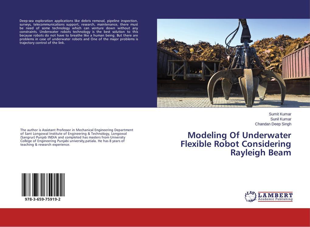 Modeling Of Underwater Flexible Robot Consideri...