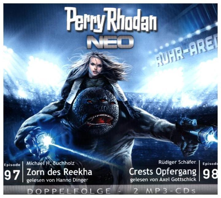 Perry Rhodan NEO 97 - 98 Zorn des Reekha - Cres...