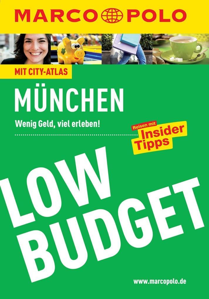 MARCO POLO Reiseführer Low Budget München als e...