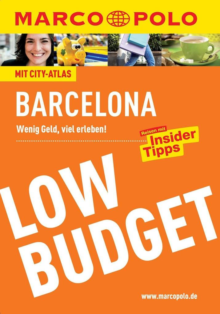 MARCO POLO Reiseführer Low Budget Barcelona als...