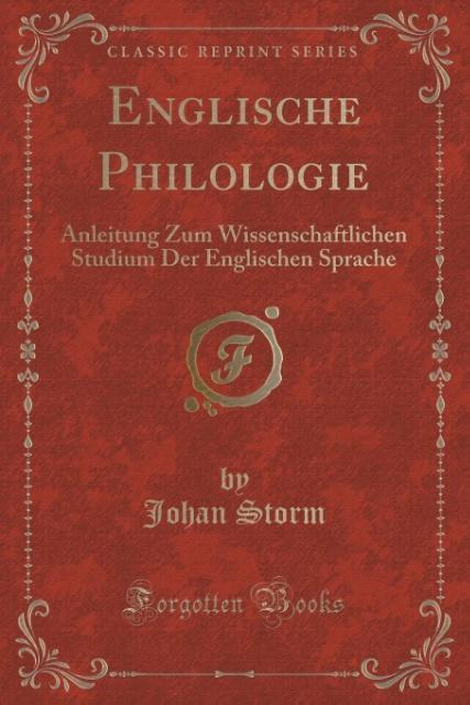 Englische Philologie als Taschenbuch von Johan ...