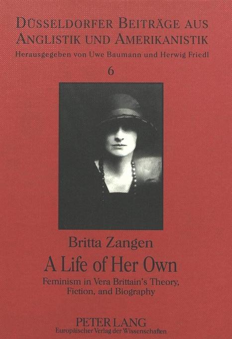 A Life of Her Own als Buch von Britta Zangen