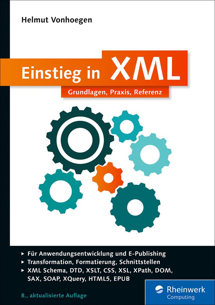 Einstieg in XML als eBook Download von Helmut V...