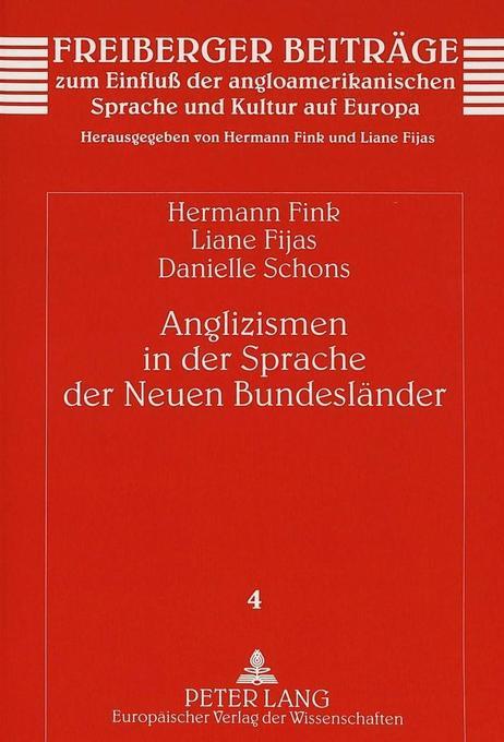 Anglizismen in der Sprache der Neuen Bundesländ...