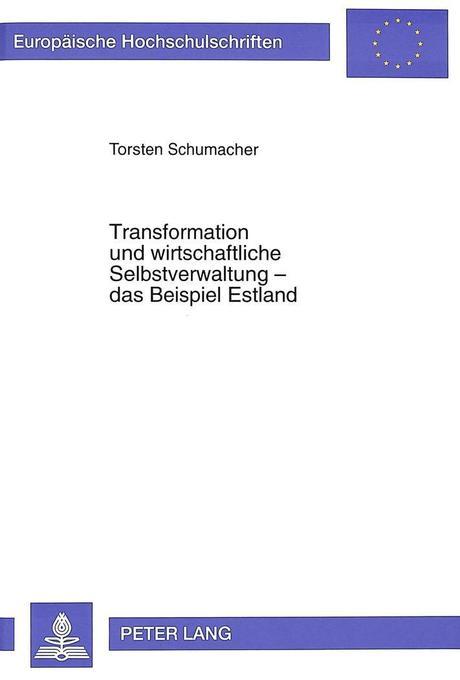 Transformation und wirtschaftliche Selbstverwal...