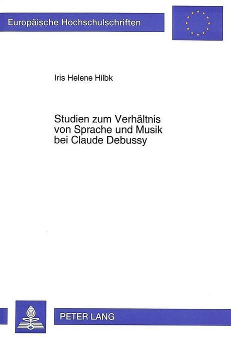 Studien zum Verhältnis von Sprache und Musik be...