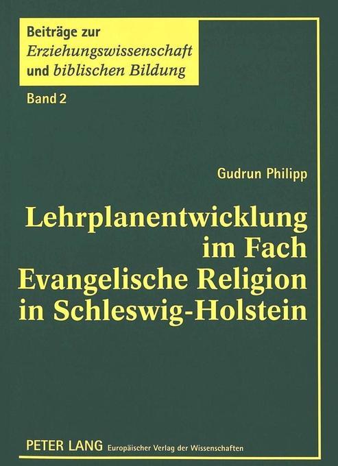 Lehrplanentwicklung im Fach Evangelische Religi...