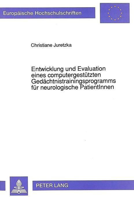 Entwicklung und Evaluation eines computergestüt...