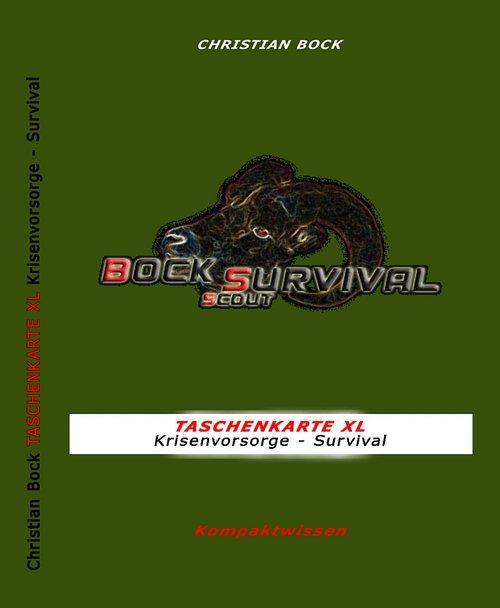 TASCHENKARTE XL Krisenvorsorge - Survival als e...