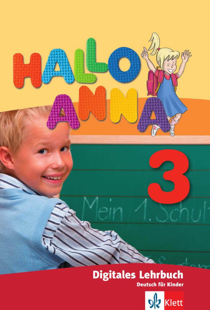 Hallo Anna 3. Lehrbuch digital, USB