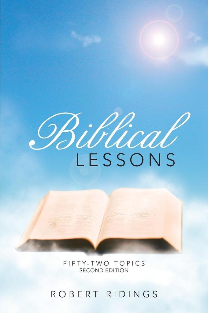 Biblical Lessons als Taschenbuch von Robert Rid...