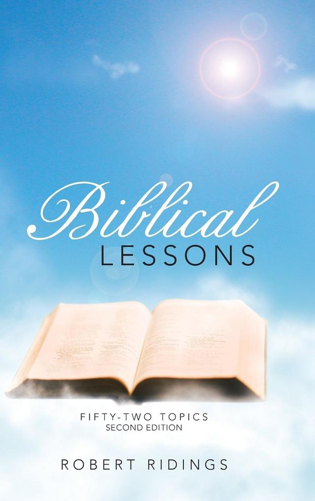 Biblical Lessons als Buch von Robert Ridings