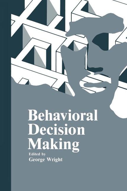 Behavioral Decision Making als eBook Download von