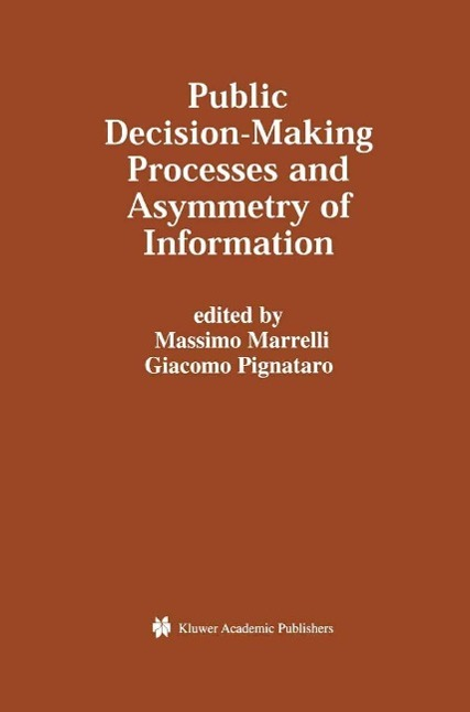 Public Decision-Making Processes and Asymmetry ...