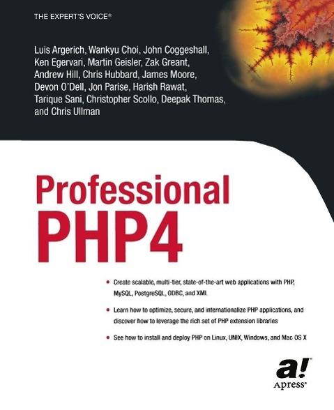 Professional PHP4 als eBook Download von Luis A...