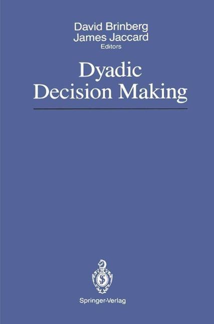Dyadic Decision Making als eBook Download von