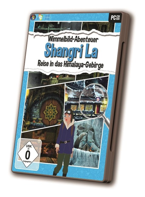Wimmelbild - Shangri La