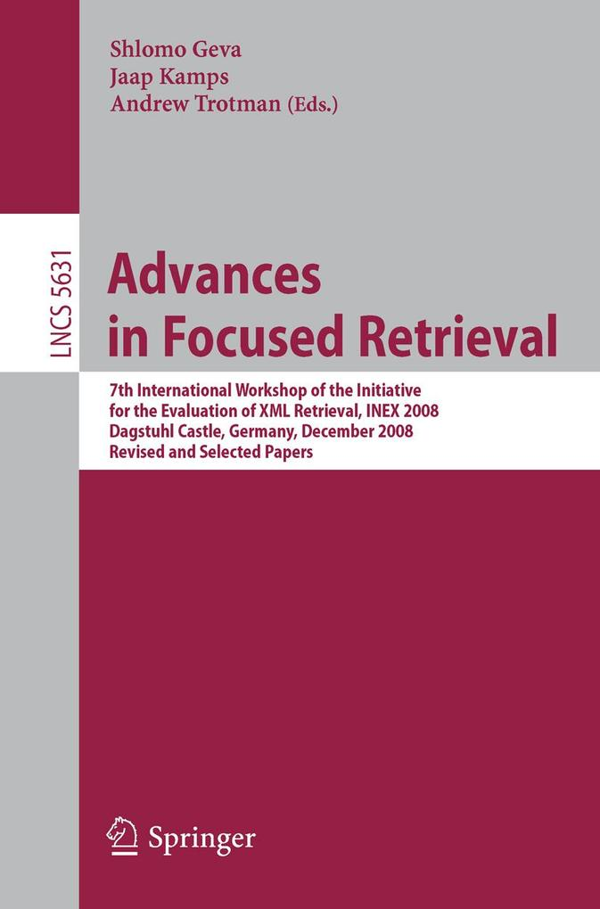 Advances in Focused Retrieval als eBook Downloa...