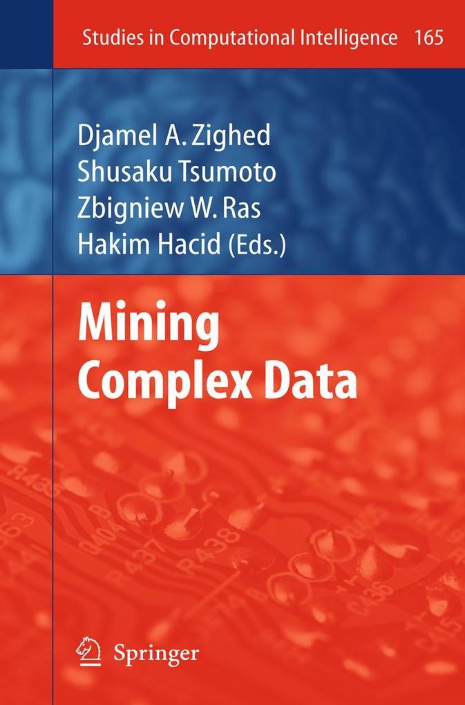 Mining Complex Data als eBook Download von
