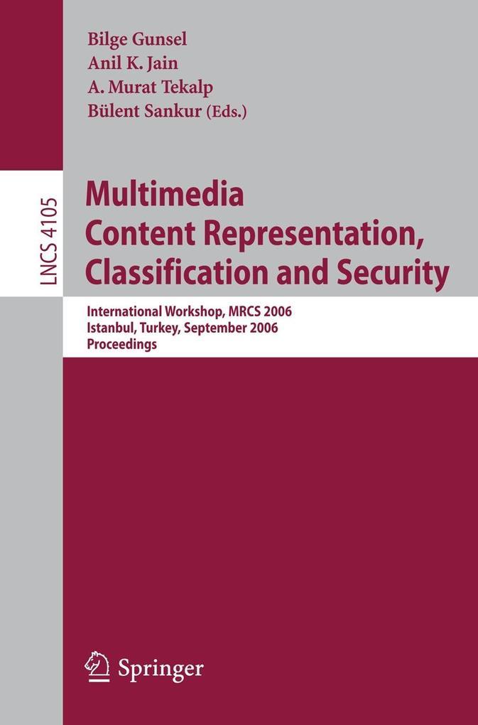 Multimedia Content Representation, Classificati...