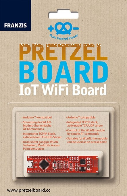 Pretzel Board