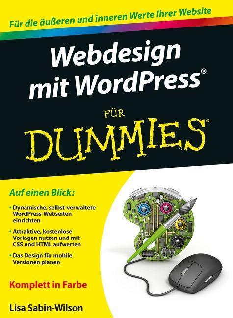 Webdesign mit Wordpress für Dummies als Buch vo...