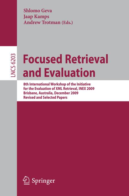 Focused Retrieval and Evaluation als eBook Down...