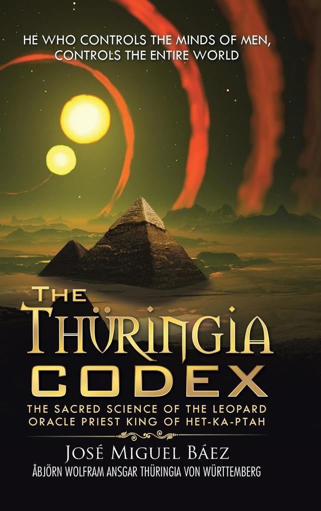 The Thüringia Codex als Buch von José Miguel Báez