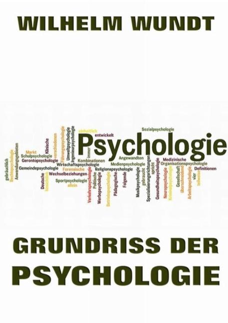 Grundriss der Psychologie als Buch von Wilhelm ...