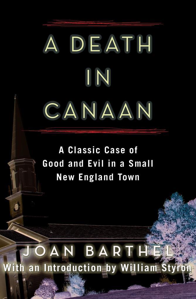 A Death in Canaan als eBook Download von Joan B...